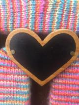 Wood Heart Chalk Board