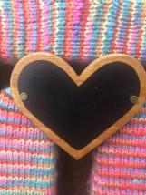 Wood Heart Chalk Board