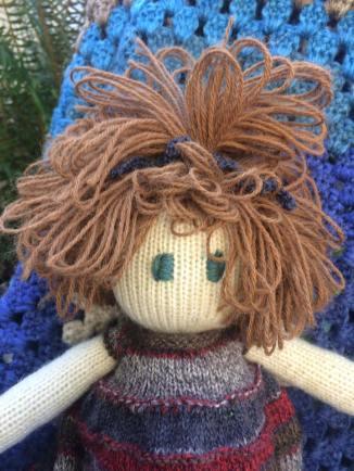 Little Friend Tessa - Hand Knit Doll