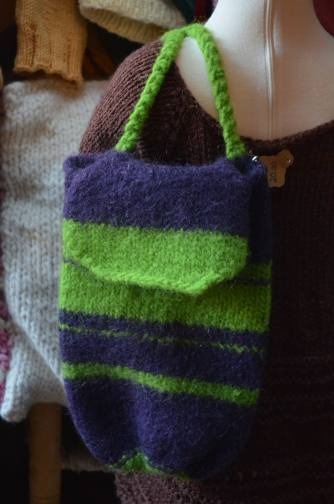 Child Size Felted Shoulder Bag