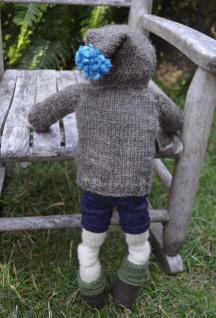 Little Friend Patrick - Hand Knit Doll